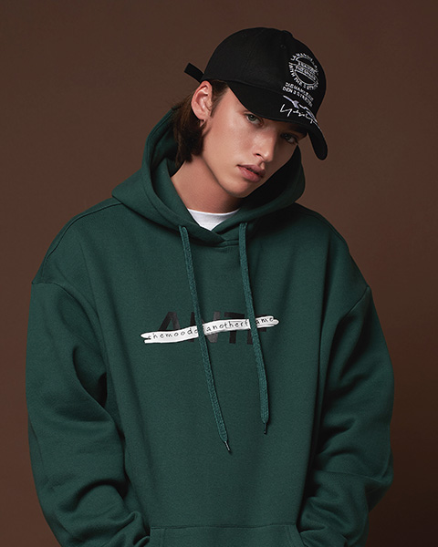 THE MOOD OF ANTF HOODIE (GREEN)