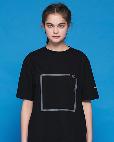 ★썸머세일★A SQUARE T-SHIRT (BLACK)