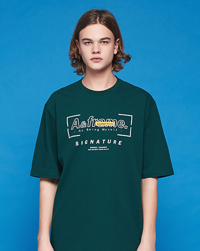 SIGNATURE LOGO T-SHIRT (GREEN)