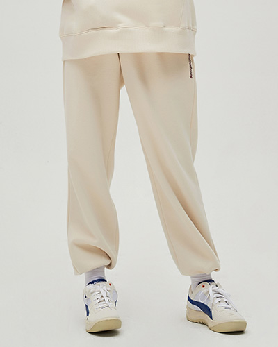 COZY SWEAT PANTS (IVORY)