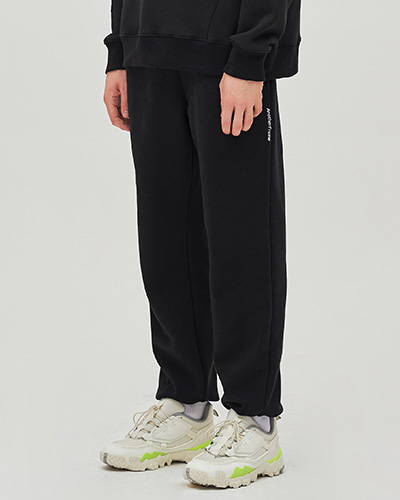 COZY SWEAT PANTS (BLACK)