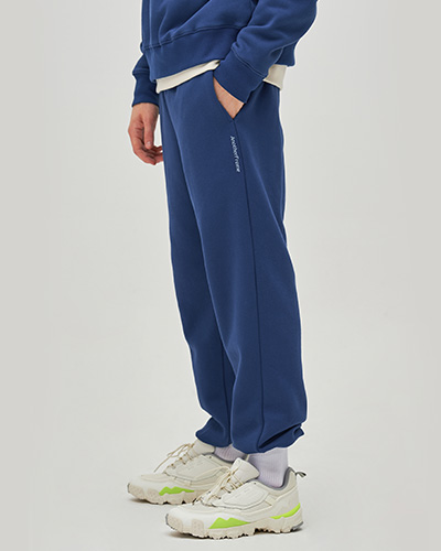 COZY SWEAT PANTS (NAVY)