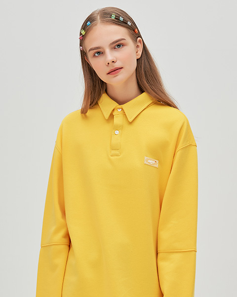 ANTE RUBBER LABEL PK T-SHIRTS (YELLOW)
