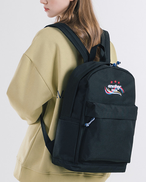 THREE STAR ANOTHER BACKPACK (BLACK)