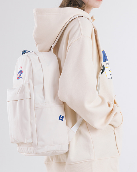 THREE STAR ANOTHER BACKPACK (IVORY)
