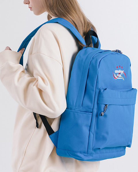 THREE STAR ANOTHER BACKPACK (BLUE)