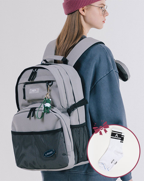EXPOSE LABEL BACKPACK (GRAY)