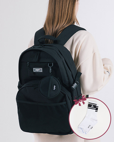 EXPOSE LABEL BACKPACK (BLACK)