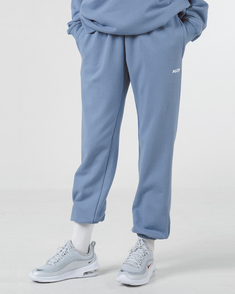 [쭈리]COMFY SWEAT PANTS (INDI BLUE)