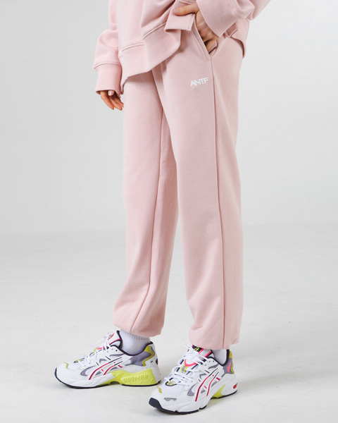 [쭈리]COMFY SWEAT PANTS (INDI PINK)