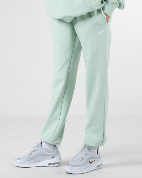 [쭈리]COMFY SWEAT PANTS (MINT)