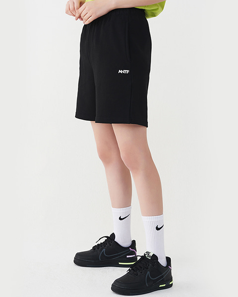 COMFY SWEAT SHORTS (BLACK)