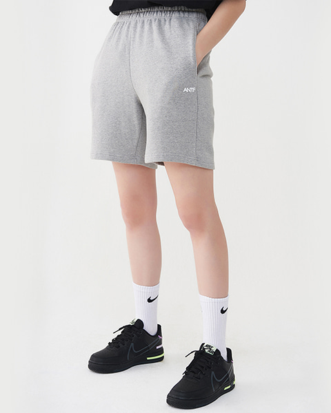 COMFY SWEAT SHORTS (MELANGE)