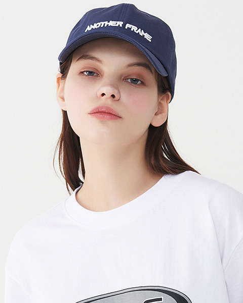 BIG LOGO BASEBALL CAP (NAVY)