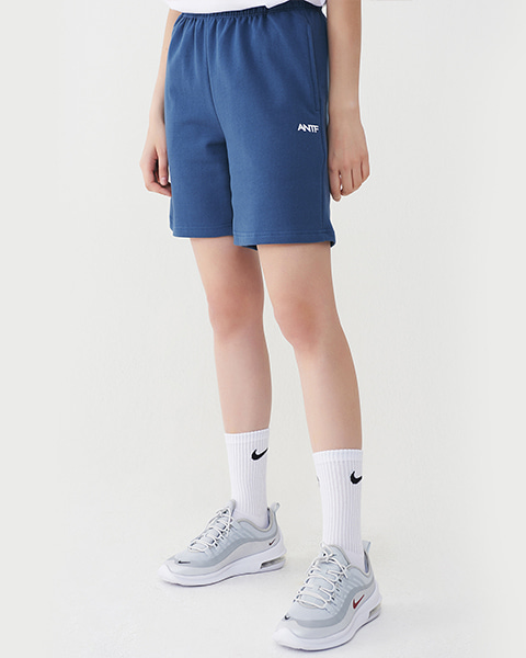 COMFY SWEAT SHORTS (NAVY)